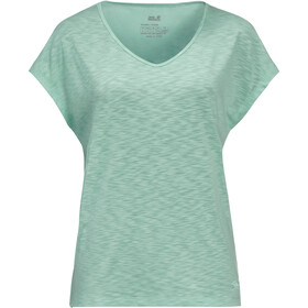 Jack Wolfskin Travel T-shirt Femme, light jade